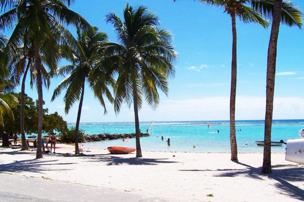 Lagon de Saint François en Guadeloupe