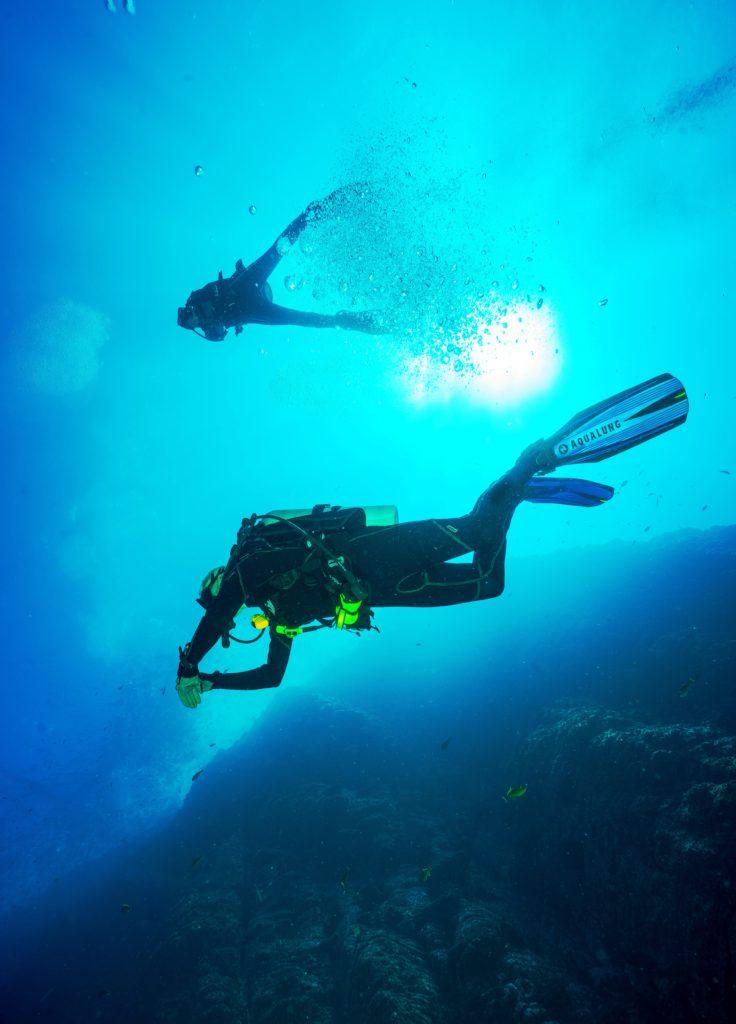 Plongée sous marine en Corse
