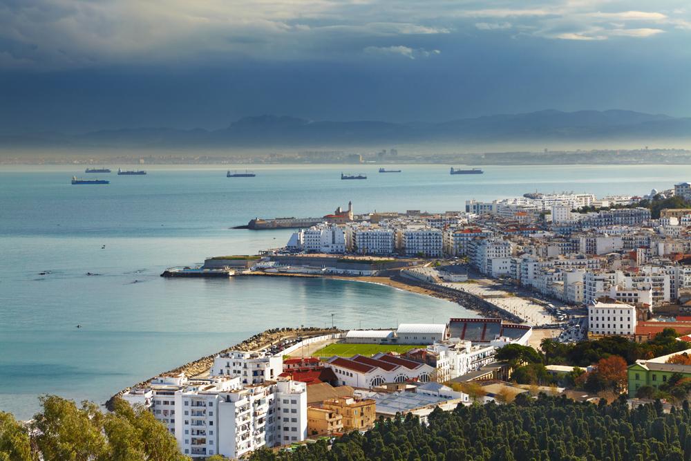 Alger et le port