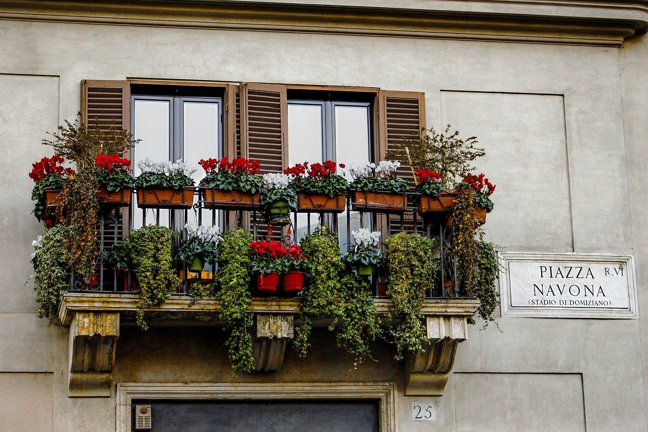 A Piazza Navona - La place Navona
